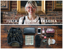 Julia Motion Persona (J Trav) Tags: persona diptych whatsinyourbag theitemswecarry showusthecontentsofyourbag videopersona
