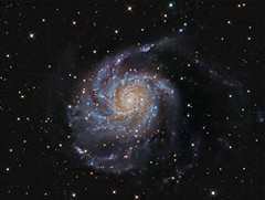 The Pinwheel Galaxy M101 LRGB (Terry Ha