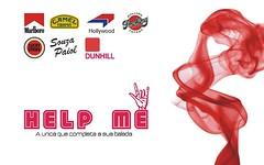 Help Me. (Reinaldo.Almeida) Tags: layout design graphicdesign graphic cartaz desenho gráfico helpme designgráfico