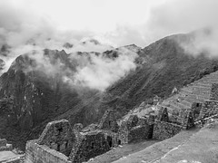 Nice weather ;-) (Charlie2012RTW) Tags: sky mountains peru machupicchu caminodelinca