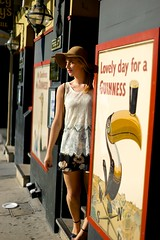 JadeF 21 (Mitch'ins) Tags: signs doors sydney hats femalemodel doorways 50mmf14 sal50f14 alphaslt sonya99