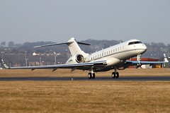 M-GBAL 05/04/13 LTN (757man) Tags: sun canon eos spring airport aviation air jet business express biz tamron takeoff luton spotting global aerospace bombardier 500d spotter ltn eggw mgbal