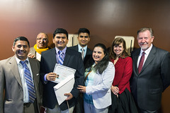 New US Citizens (BostonCollegeFlickr) Tags: events immigration naturalization robshamtheater