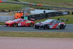 Ferrari 458 Italia GT3 Nissan GT-R GT3 (juanpablominerals) Tags: car canon eos italia nissan ferrari racing british gt motorsport gtr gt3 oulton oultonpark 458 overtake 600d britishgtchampionship