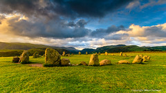 Another view of Castlerigg Stone Circle (MikeChet) Tags: england fall landscape unitedkingdom wildlife lakedistrict places keswick flowersplants castleriggstonecircle allerdaledistrict