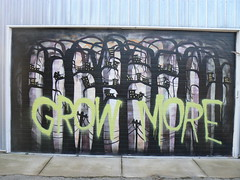 grow more by snacki (httpill) Tags: streetart chicago art graffiti tag graf kwt 2nr snacki
