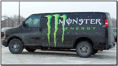 Monster Energy (Jacques Trempe) Tags: monster advertising energy quebec publicity publicite vehicule stefoy