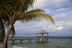 Nautical Inn, (gr8dnes) Tags: ocean water dock waterfront belize shoreline gazebo centralamerica placencia seinebight stanncreekdistrict nauticalinn britishhonduras
