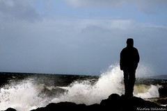 la mer (Nicolas Valentin) Tags: uk light sea weather scotland windy explore ecosse portencross nicolasvalentin