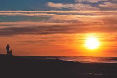 the ocean rolls us away (pixelmama) Tags: california sunset beach waves silhouettes oceanbeach splash theocean thebravery hcs thehumanelement clichesaturday pixelmama