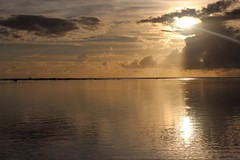 Rarotonga, Cook Islands (famkefonz) Tags: sunset lagoon cookislands rarotonga southpacificocean aroabeach