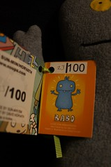 Uglydoll Handmade David Horvath and Sun Min - Babo Original 100 (TAG) (jcwage) Tags: giantrobot doll handmade ox ugly target gr uglydoll rare uglydolls icebat babo jeero horvath cinko davidhorvath sunminkim sunmin wedghead uglycon original100