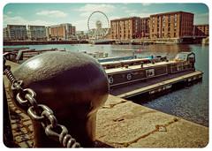 Albert Dock, Liverpool (Bev Goodwin) Tags: england liverpool albertdock merseyside capstan canalboats echowheel sonya37