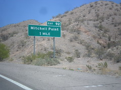 I-25 North - Exit 92 (sagebrushgis) Tags: newmexico sign intersection i25 nm1 biggreensign sierracounty freewayjunction