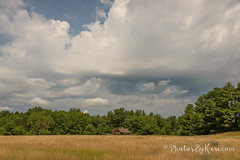 Building Clouds (KAM918) Tags: clouds sky weather summer grass trees londonderry new hampshire nh nikon d610 ominous
