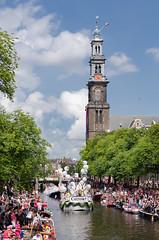 coexist (EdRocket) Tags: amsterdam gay parade pride 2016 prinsengracht westertoren