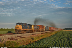 Full steam ahead! (Marco Stellini) Tags: ohio electric general transportation csx ac44cw ac4400