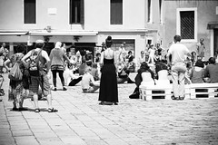 From among them (Capture the planet) Tags: lady woman dress black nikon nikkor d810 fx flickr show audience venice venicia italy italian italia dancer dancers square fav10 fav25