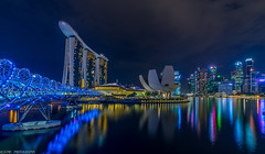 cityscape (jaywu429) Tags: beautiful skyline sky lights landscape landscpae sonya7r sony asia marinabaysands mbs reflections tokina1628mm nightshot nightscape cityscpae city singapore