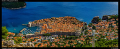 Dubrovnik - Oldcity (Falcdragon) Tags: ilce7 sonya7alpha croatia oldtown dubrovnik unesco worldheritagesite city cityscape panorama water sea adriatic fortress fortifications walledcity port harbour