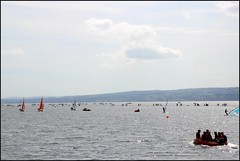West Kirby Wirral  230816 (23) (over 4 million views thank you) Tags: westkirby wirral lizcallan lizcallanphotography sea seaside beach sand sandy boats water islands people ben bordercollie dog beaches reflections canoes rocks causeway yachts outside landscape seascape