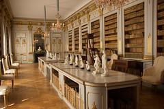 Drottningholm, the library (Yvonne L Sweden) Tags: slott castle drottningholm sweden worldheritage royalcastle vrldsarv