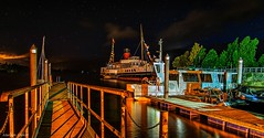 Maid of the Loch (MC Snapper78) Tags: scotland nikond3300 night lochlomond boat maidoftheloch balloch marilynconnor