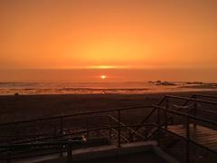 Odd sky's (lukegoodearl) Tags: colour bude sumerliving sumer beautiful redsky cornwall beach sea sky sunset