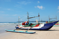 The real thing (miguel IV) Tags: oruwaoutrigger fishingship srilanka