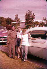 1950s you can trust your car to the man who wears the star (rich701) Tags: vintage 35mm color 1950s langhorne pa pennsylvania carclub automobileclub 1954mercury bthriftyfoods texaco youcantrustyourcar