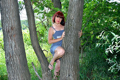 DCS (44) (dmitriy1968) Tags: portrait  nature  beautiful girl wife  people evening erotic sexsual   summer   river   swimsuit  tan  dress