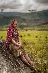 Noken (tehhanlin) Tags: indonesia papua westpapua irianjaya nusantara honai noken wamena sony a7r2 a7rm2 ngc travel portrait humaninterest sukudani jayapura koteka
