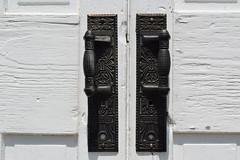 Hughes School 8 (wdzinc) Tags: hughesschool hughesschoolhouse school schoolhouse butlercounty ohio nrhp builtin1887 door doors doorhandles