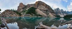 Lake Louise Panorama (Rummaan) Tags: banff lakemoraine canadianrockies canada lake mountains glacierwater