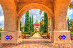 Gardens at Balboa Park's Administration (Michael F. Nyiri) Tags: california southerncalifornia sandiego balboapark architecture travel park