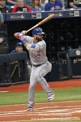 Jose Bautista (jwdonten) Tags: majorleaguebaseball americanleague torontobluejays tropicanafield josebautista