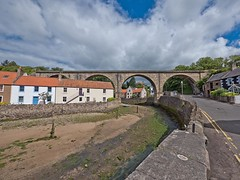 Lower Largo (penlea1954) Tags: fishing village lower largo firthofforth old railway viaduct north british nbr east fife line thornton junction st andrews victim beeching cuts firth forth