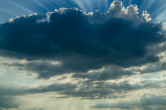 238/365 (goran1101) Tags: nikon d5100 nikkor 35mm color colour colors colours colorful epic sky clouds sun sunhine ray rays beam beams blue
