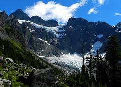 Mount Shuksan (Ramona H) Tags: shuksan lakeann mountshuksan mtshuksan curtisglacier lowercurtisglacier uppercurticglacier hellshighway northcascades glacier glaciers