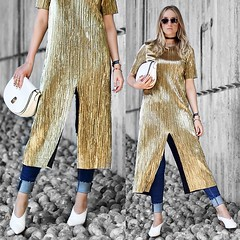 MyLook #91 by Mad Cat Fashion, 37 year old fashion visual merchandiser, interior designer, fashion stylist from Bournemouth, United Kingdom (9lookbook.com) Tags: blog blogger choker denim fashion fashionable fashionblogger fashionbook fashioninspo fashionista fashionphotography fashionpost gold instafashion lifestyle model mules ootd outfitpost photooftheday pleats primark streetfashion streetstyle styleblog styleblogger styleoftheday whatimwearing zara