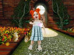 Florzinha #012. (Jamini R.B.) Tags: pose unicorn cupcake