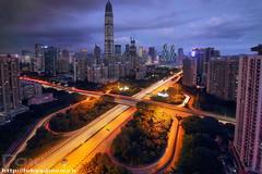 IMG_7325 () Tags: skyline skyscraper sunset shenzhen pingan pafc china cbd canton citynight futian