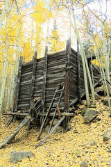 Mining Ruins (Patricia Henschen) Tags: chaffeecounty sawatch range mountains mountain aspen autumn fall color gold silver mine mines mining ruins ghosttown stelmo mtprinceton chalkcreek nathrop colorado canyon sanisabelnationalforest grade trail leafpeeping fallcolor pathscaminhos county road backroad