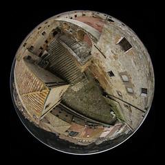 Sorano la Fortezza Orsini VI - 5779 (opaxir) Tags: italy aerial medieval tuscany kap toscana maremma sorano fortezzaorsini