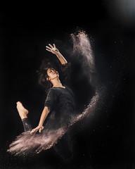 Dust Dancing Project (I): Eden (Flavio~) Tags: dancing powder lightmotion strobist