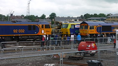 92032, MPV and 66/7 (firstclassx) Tags: train steam voyager nationalrailwaymuseum railfest yorknrm june2012