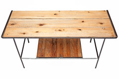 "Pine Top Coffee Table with Lath Shelf • <a style=""font-size:0.8em;"" href=""http://www.flickr.com/photos/80301931@N08/8467394756/"" target=""_blank"">View on Flickr</a>"