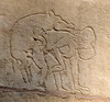 Khajuraho (nicnac1000) Tags: sculpture india statue stone temple vishnu indian carving unescoworldheritagesite unesco worldheritagesite mp hindu khajuraho madhyapradesh chattarpur bundelkhand 10thcentury northindian chhatarpur lakshmanatemple chandela yashovarman 950ad india2013 vaikunthavishnu