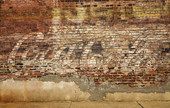 The right stuff (steverichard) Tags: old usa sign wall america vintage mississippi photo image cola decay painted south bricks ghost coke roadtrip business southern ms weathered aged cocacola fading smalltown pontotoc drinkcocacola ghostsignage steverichard