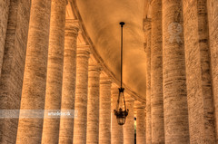 St. Peter's Square (arturii!) Tags: city trip travel italy vatican building church lamp beauty architecture wow amazing nice construction holidays europe italia tour estate cathedral superb awesome religion great columns vaticano route stunning papa viatge catholicism vacations cristian archs hdr impressive gettyimages treatment saintpeter vatica interetsing canonoes400d arturii arturdebattk